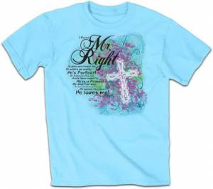 T-Shirt Mr Right          MEDIUM