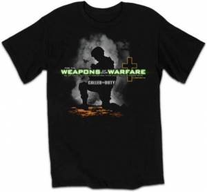 T-Shirt Weapons of Our Warfare Adult Medium
