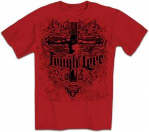 T-Shirt Tough love        XLARGE