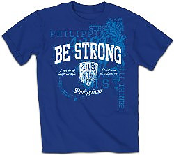 T-Shirt Be Strong Adult Small