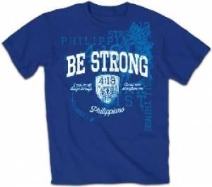 T-Shirt Be Strong Adult Medium