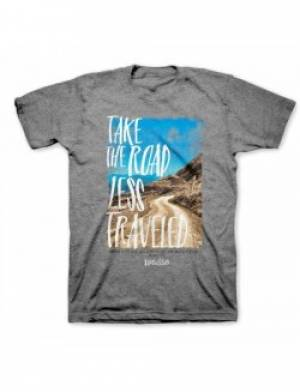 Take the Road Less Traveled T Shirt: Adult Large