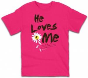 T-Shirt He Loves Me        SMALL
