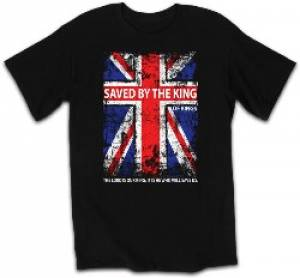 T-Shirt Saved by the King  SMALL