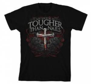 T-Shirt Tougher Than Nails 3 Adult Large