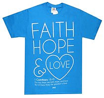 T Shirt FH and Love        LARGE