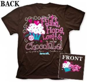 T-Shirt Chocolate       2X-LARGE