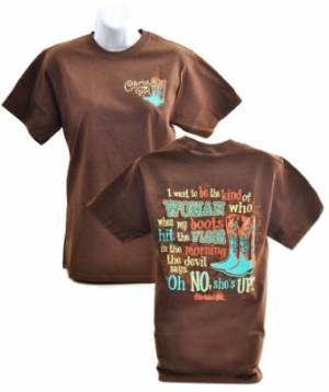 Cherished Girl Adult T-Shirt Oh No Small
