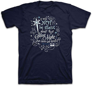 T-Shirt Silent Night MEDIUM