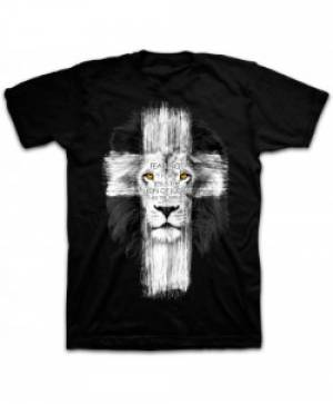 T-Shirt Lion Cross Adult Medium