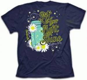 Cherished Girl Adult T-Shirt Lightning Bug Medium