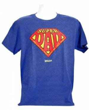T-Shirt Super Dad Adult XL