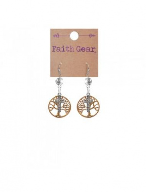 Faith Gear Women's Earrings - Tree of Life