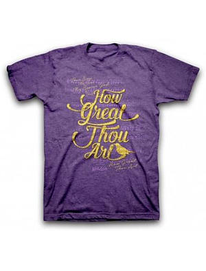 T-Shirt How Great Thou Art Adult Large