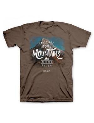T-Shirt Faith Can Move Mountains Adult XL