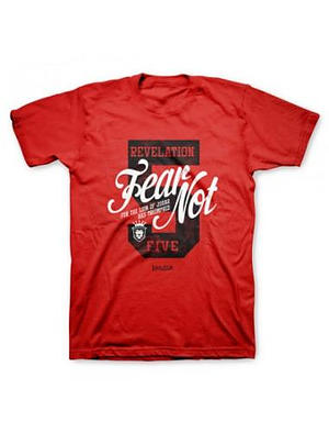 T-Shirt Fear Not Adult Large