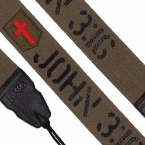 John 3:16 Guitar Strap