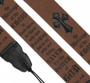 Guitar Strap: The Cross