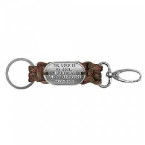 Survival Keychain Olive Camo