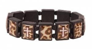 Tile Bracelet: Leopard Print