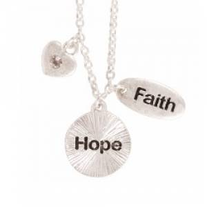 Necklace: Faith/Hope/Love