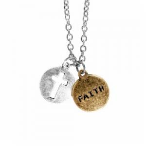 Necklace: Faith/Cross