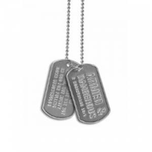 Dogtags - Armed & Dangerous