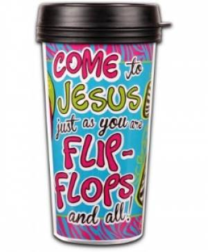 Insulated Tumbler: Flipflops
