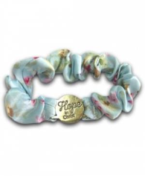 Scrunch Bracelet: Hope