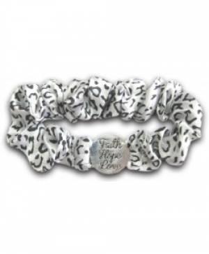 Scrunch Bracelet: Faith/Hope/Lov