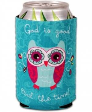 Can Cooler - Owl