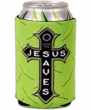 Can Cooler - Jesus Saves