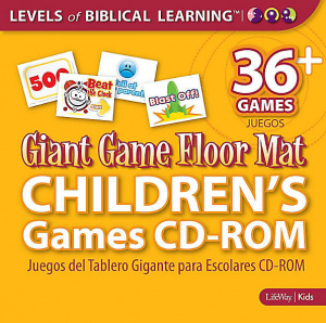 Giant Game Floor Mat Childrens Games Cdr