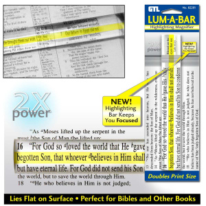Lum-A-Bar Highlight Magnifier