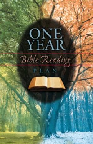 One Year Bible Reading Plan Tracts