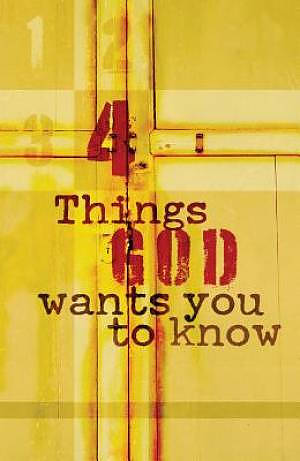 Four Things God Wants You Esv Tracts