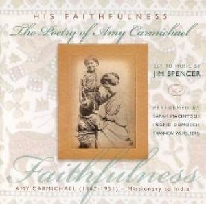 His Faithfulness Poetry CD