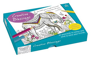 Creative Blessings Postcard