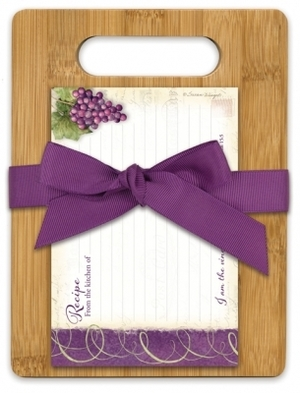CUTTING BOARD GIFT SET VINEYAR