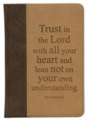 Trust In The Lord Pocket Scripture Journal
