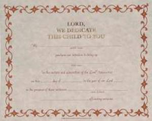 Child Dedication Certificate (12)