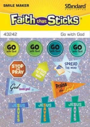 Go With God Stickers
