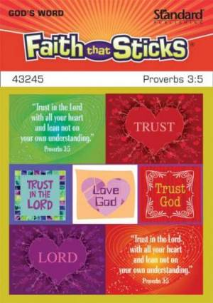 Proverbs 3:5 Stickers
