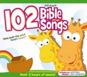 102 Bible Songs 3cd Box Set