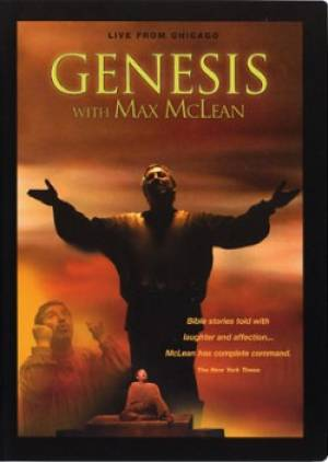 Genesis With Max McLean DVD