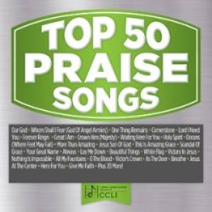 Top 50 Praise Songs CD Green