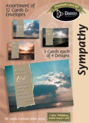BOXED CARD SYMPATHY SKIES