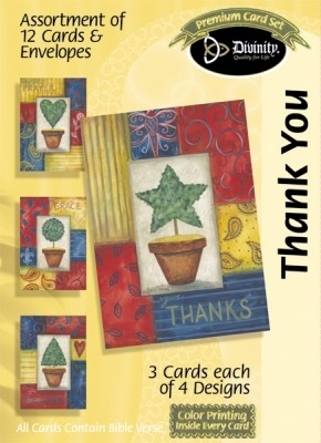 BOXED CARD THANK YOU TOPIARY