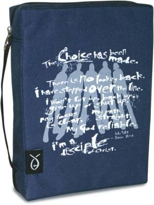 BIBLE COVER DISCIPLES CREED XL
