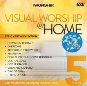 Visual Worship @ Home Vol 5 DVD ROM